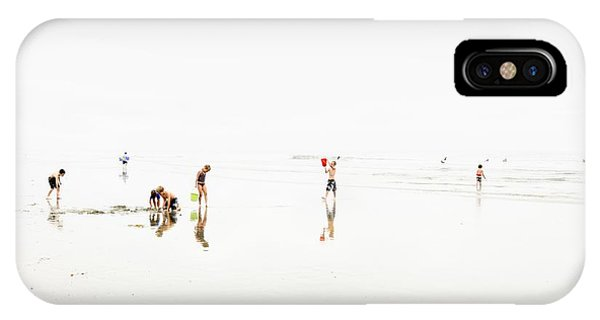 Kids On The Beach 1 IPhone Case