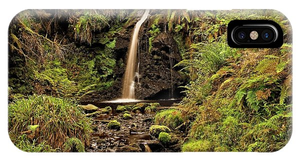 Kielder Forest Waterfall IPhone Case