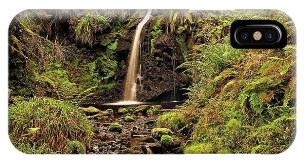 Kielder Forest Waterfall IPhone Case