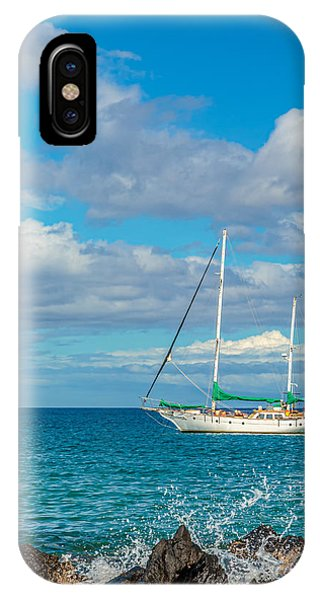 Kihei Sailboat 4 IPhone Case