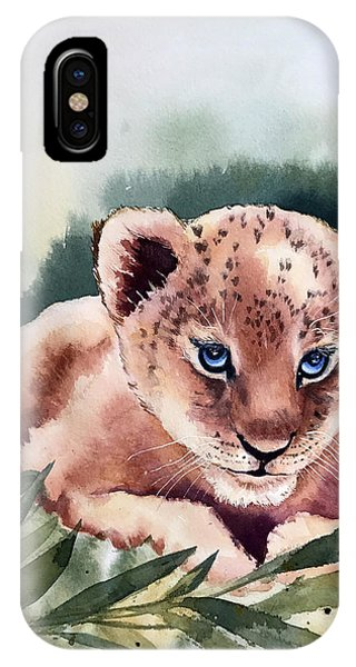 Kijani The Lion Cub IPhone Case