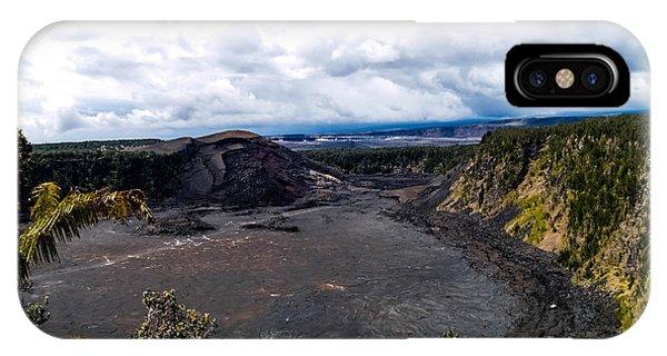 Kilauea Caldera IPhone Case
