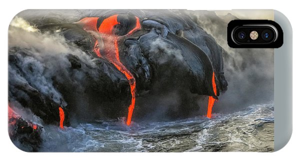 Kilauea Volcano Hawaii IPhone Case