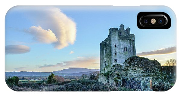 Kilcash Castle Ufo IPhone Case