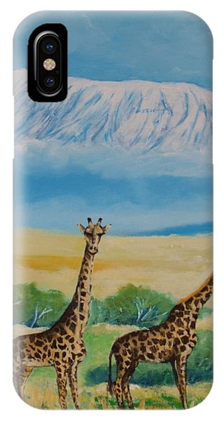 Kilimandjaro IPhone Case