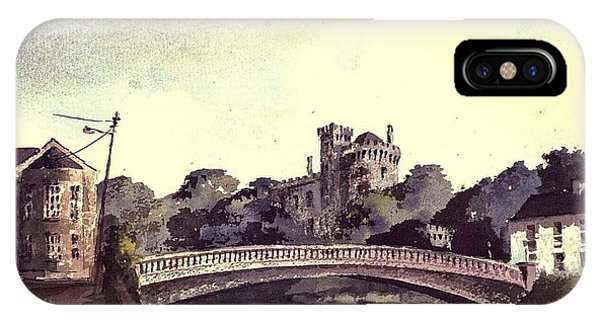 Kilkenny Castle On The Nore River. IPhone Case