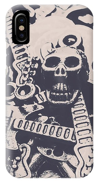 Punk Rock iPhone Case - Kill The Music Industry by Jorgo Photography - Wall Art Gallery
