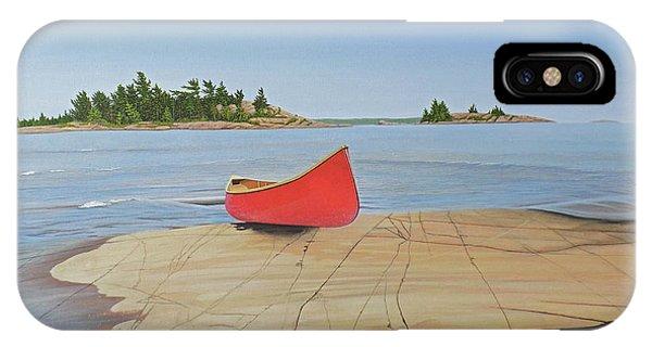 Killarney Canoe IPhone Case