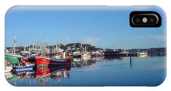 Killeybeggs Harbor IPhone Case