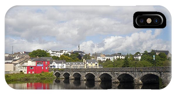 Killorglin Bridge IPhone Case