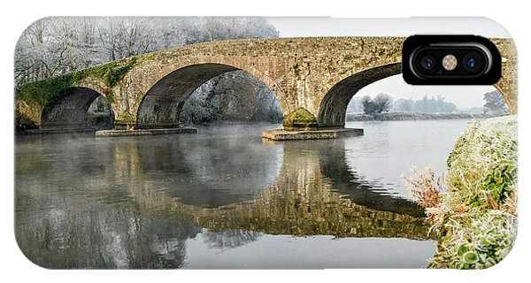 Kilsheelan Bridge In Winter  IPhone Case