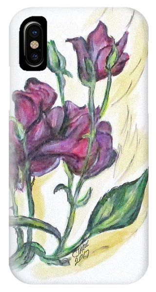 Kimberly's Spring Flower IPhone Case