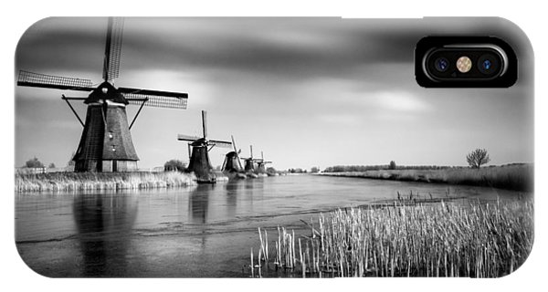 Kinderdijk IPhone Case