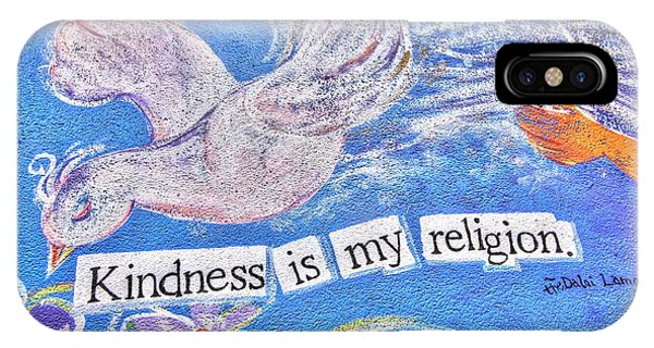 Kindness Is My Religion IPhone Case