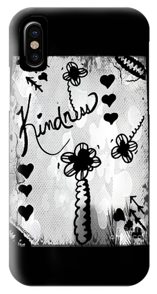 IPhone Case featuring the drawing Kindness by Rachel Maynard