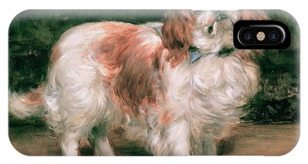 King Charles iPhone Case - King Charles Spaniel by George Sheridan Knowles