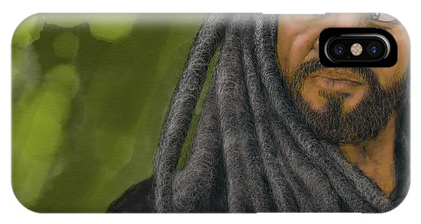 King Ezekiel IPhone Case