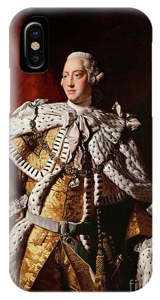 King George IIi IPhone Case