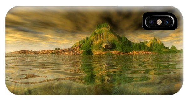 King Kongs Island IPhone Case