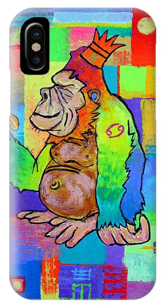 King Konrad The Monkey IPhone Case
