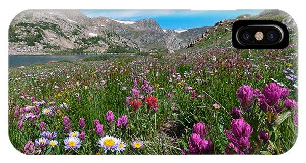 King Lake Summer Landscape IPhone Case