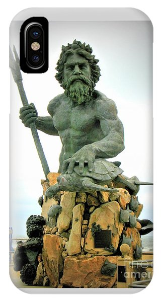 King Neptune Statue IPhone Case