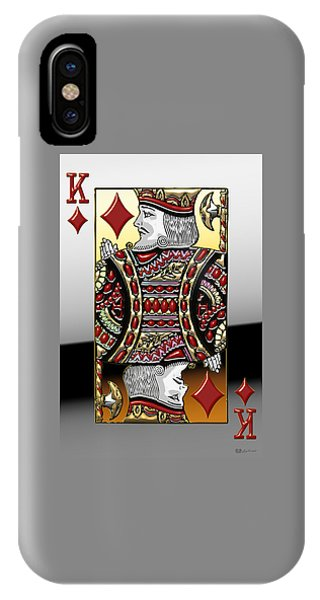 King Of Diamonds   IPhone Case