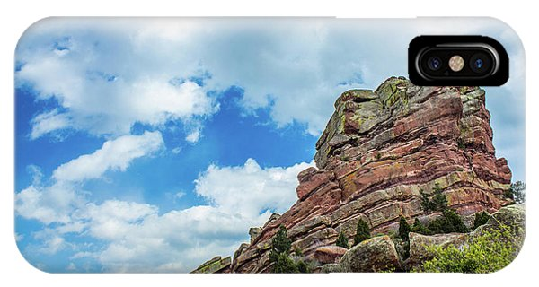 IPhone Case featuring the photograph King Of Rocks by Tyson Kinnison