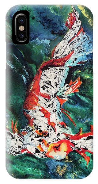 King Of The Pond IPhone Case
