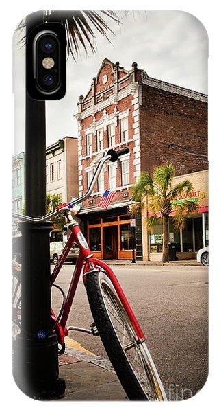 King Street Charleston Sc  -7436 IPhone Case