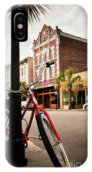 King Street Charleston Sc  -7436 IPhone Case