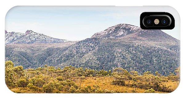 Rocky Mountain iPhone Case - King William Range. Australia Mountain Panorama by Jorgo Photography - Wall Art Gallery