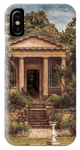 Kew Gardens, England - King William's Temple IPhone Case