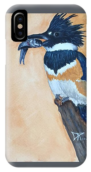 Kingfisher-2 IPhone Case