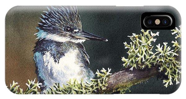 Kingfisher II IPhone Case