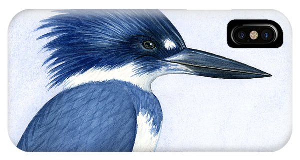 Kingfisher Portrait IPhone Case