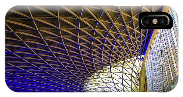 Kings Cross Railway Station Roof IPhone Case