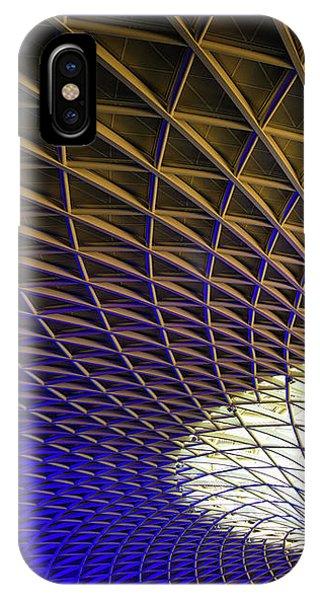 Kings Cross Railway Station Roof IPhone Case