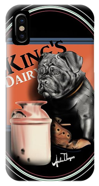 King's Dairy  IPhone Case