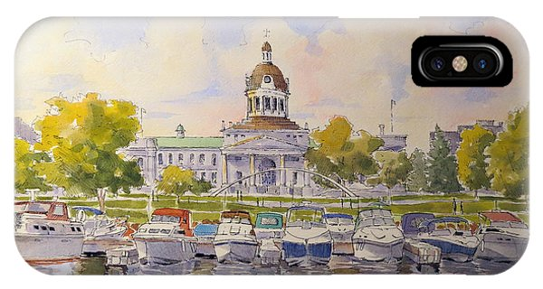 Kingston City Hall And Harbour IPhone Case