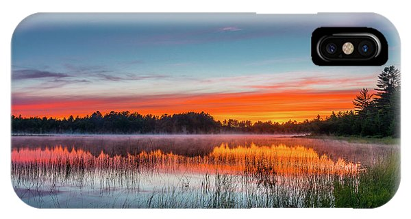 Kingston Lake Sunset IPhone Case