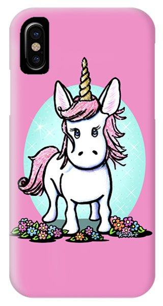 Kiniart Unicorn Sparkle IPhone Case