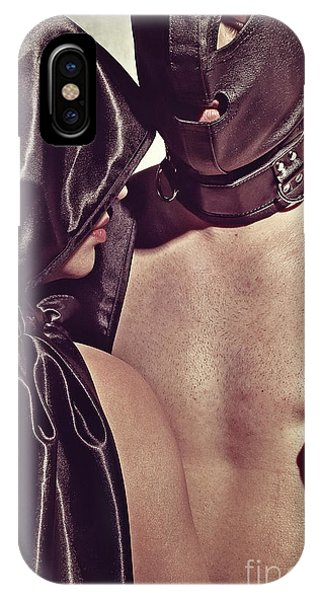Kinky Play Man And Woman IPhone Case