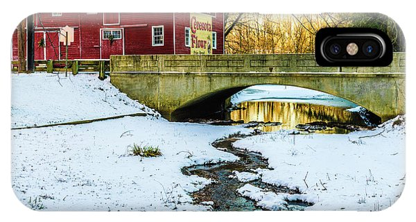 Kirby's Mill Landscape - Creek IPhone Case