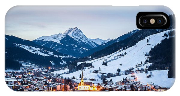 Kirchberg Austria In The Evening IPhone Case