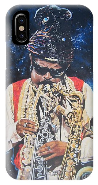 Blue Cat Productions.  Rahsaan  Roland Kirk  IPhone Case