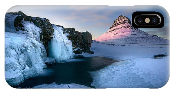 Kirkjufell, Iceland IPhone Case