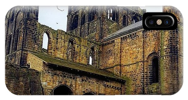 #kirkstallabbey #leeds How's Your Bank Phone Case by Dante Harker