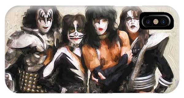 Kiss Band IPhone Case