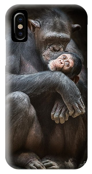 Kiss From Mom IPhone Case
